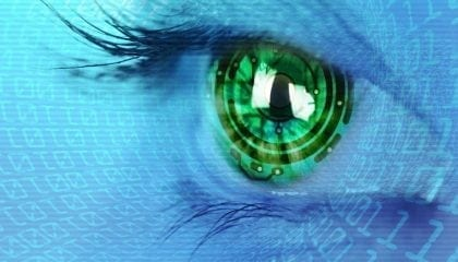 Art and Science Concept Beautiful Eye Data_Medium__Comp