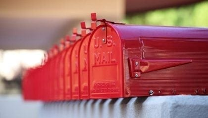 Red Mailboxes in a Row_Medium__Comp